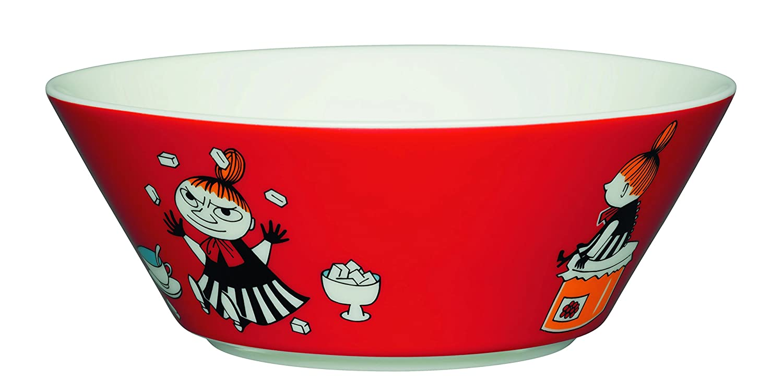 Arabia Moomin Bowl - Little My RED