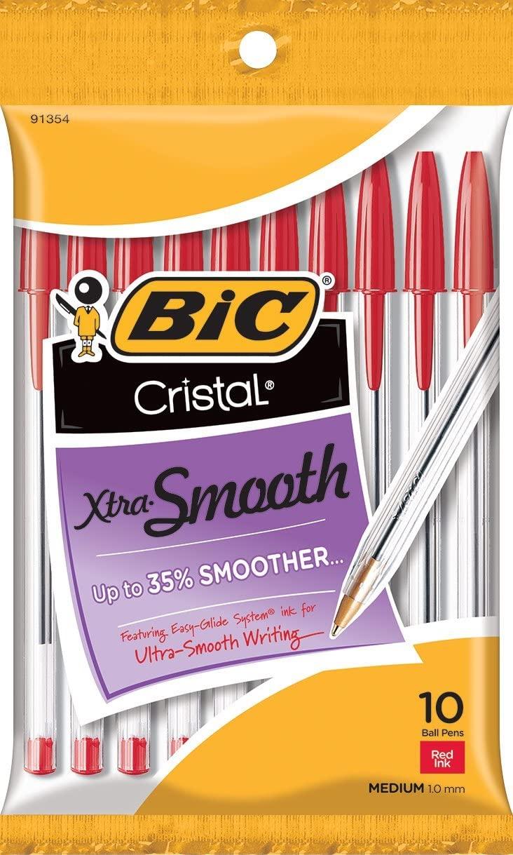 BIC Cristal Xtra Smooth Ballpoint Pen