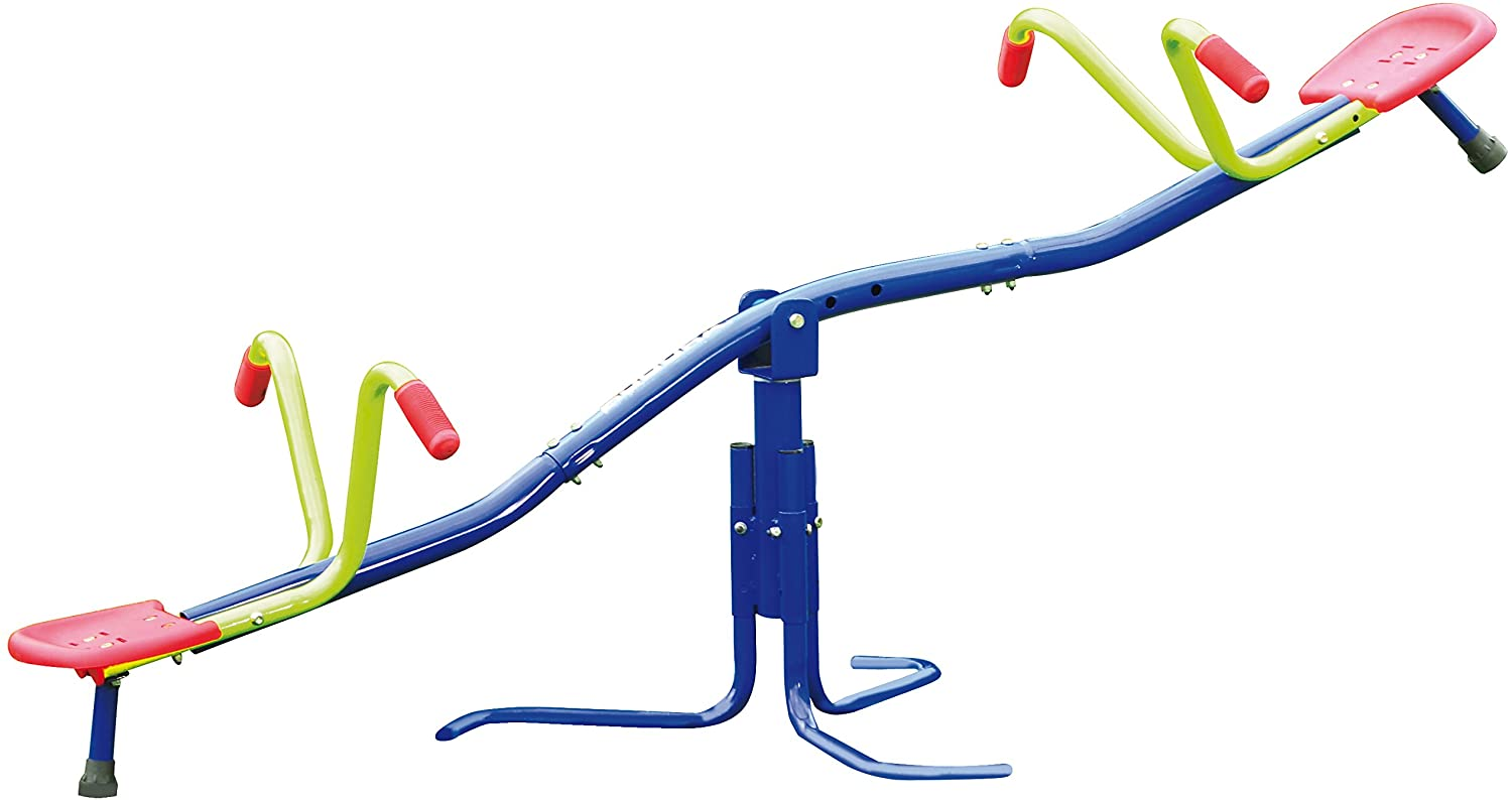 HUDORA 64020 HD 200 Carousel Seesaw, Multi-Colour, One Size