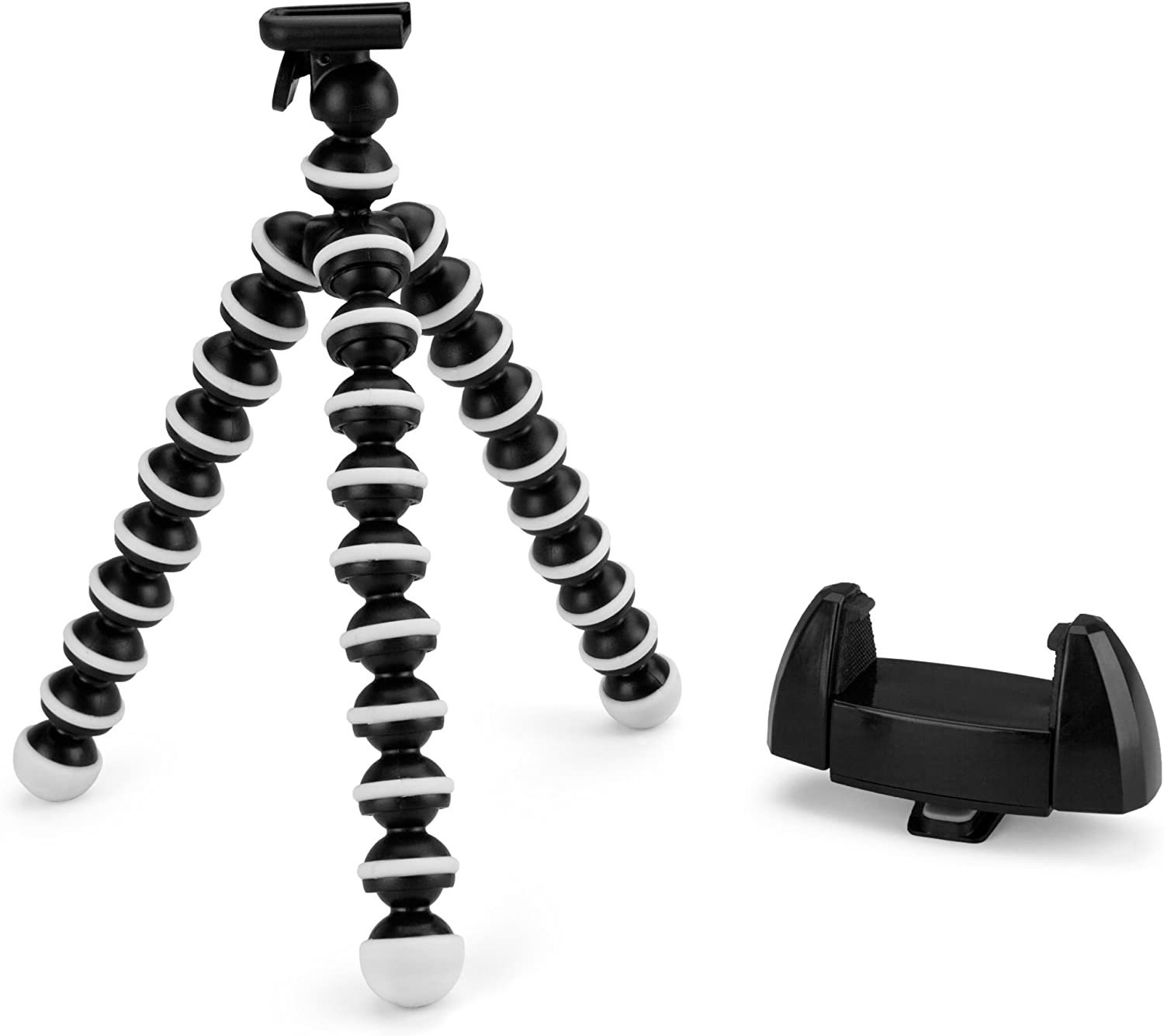 Stand and Mount, BoxWave [SlinkyPod] Portable Universal Tripod and Hands Free Mount for Smartphones and Tablets