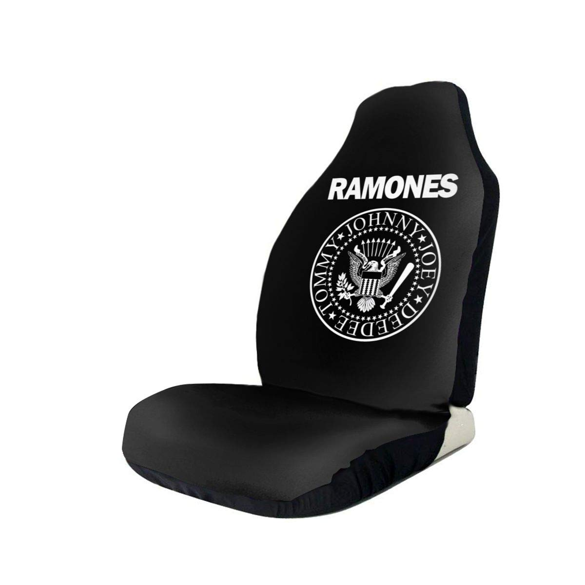 Ramones Logo Anti-Skid and Waterproof Car Seat Covers Protector Fits Most Cars, Auto SUVs Trucks