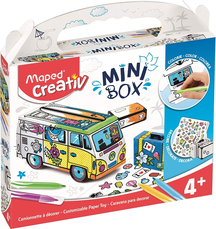Maped Mini Box Activity Kit, Blue