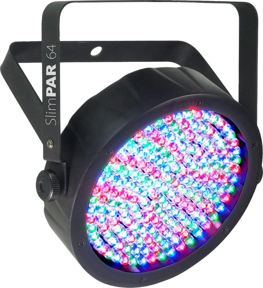 CHAUVET DJ LED Lighting, BLACK (SlimPAR 64)