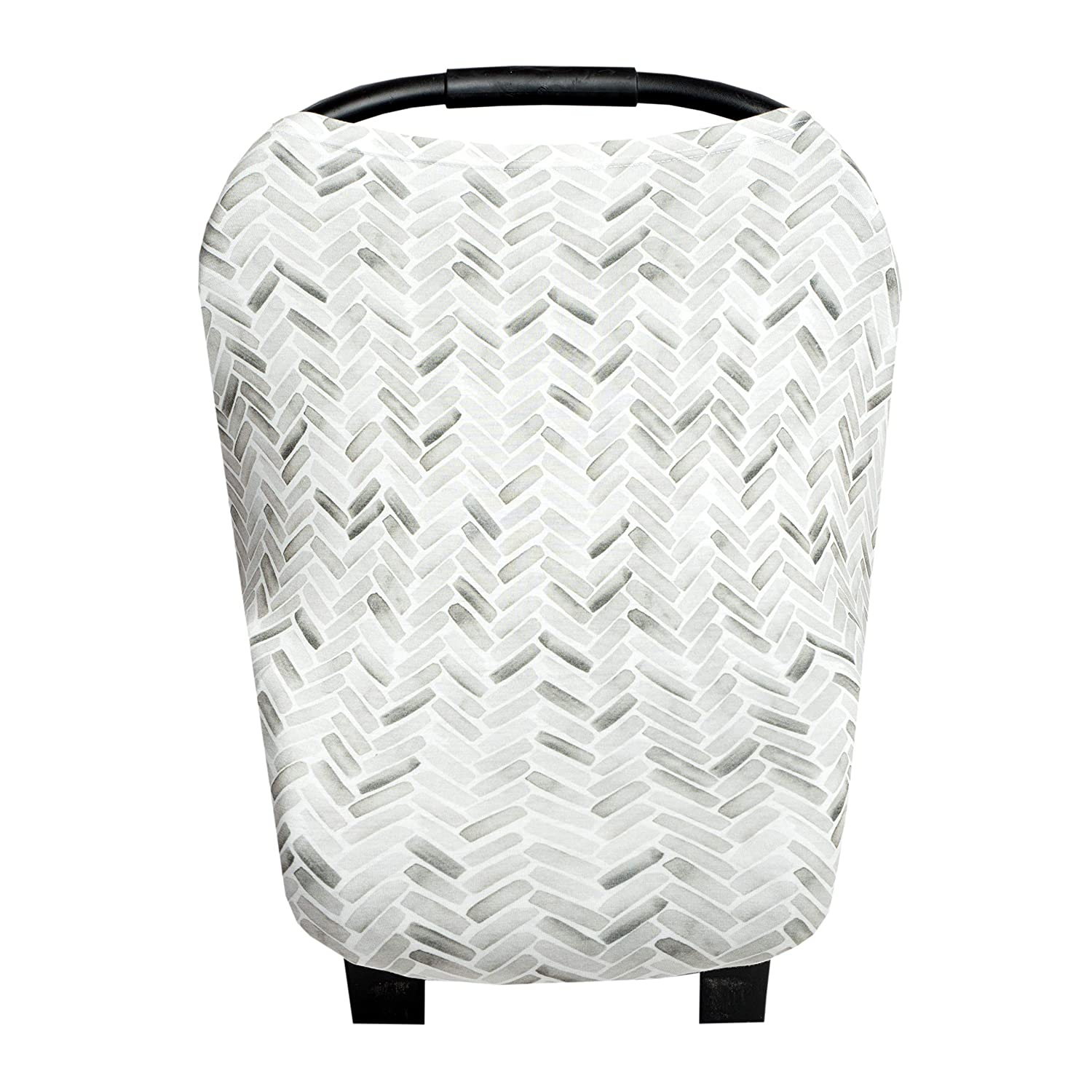Baby Car Seat Cover Canopy and Nursing Cover Multi-Use Stretchy 5 in 1 Gift