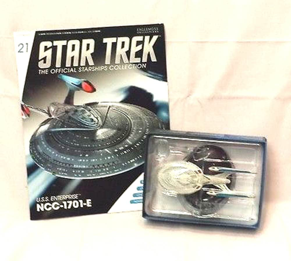 Eaglemoss Publications Star Trek Starships Figurine Collection Magazine #21 U.s.s Enterprise-e