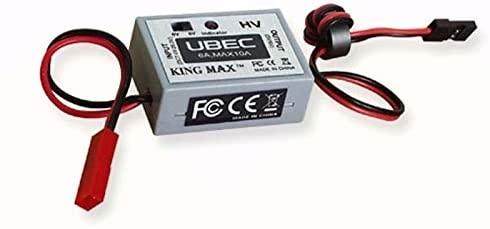 Parts & Accessories KINGMAX KM8001 5A KM8001-2 6A KM8001-3 7.4V-8.4V HV Output UBEC Switch Mode DC-DC Regulator for RC Radio Control Hobby - (Color: KM8001-3 7.4-8.4V)