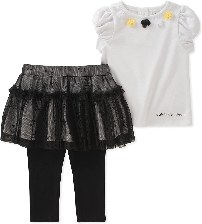 Calvin Klein Baby Girls Skegging Set
