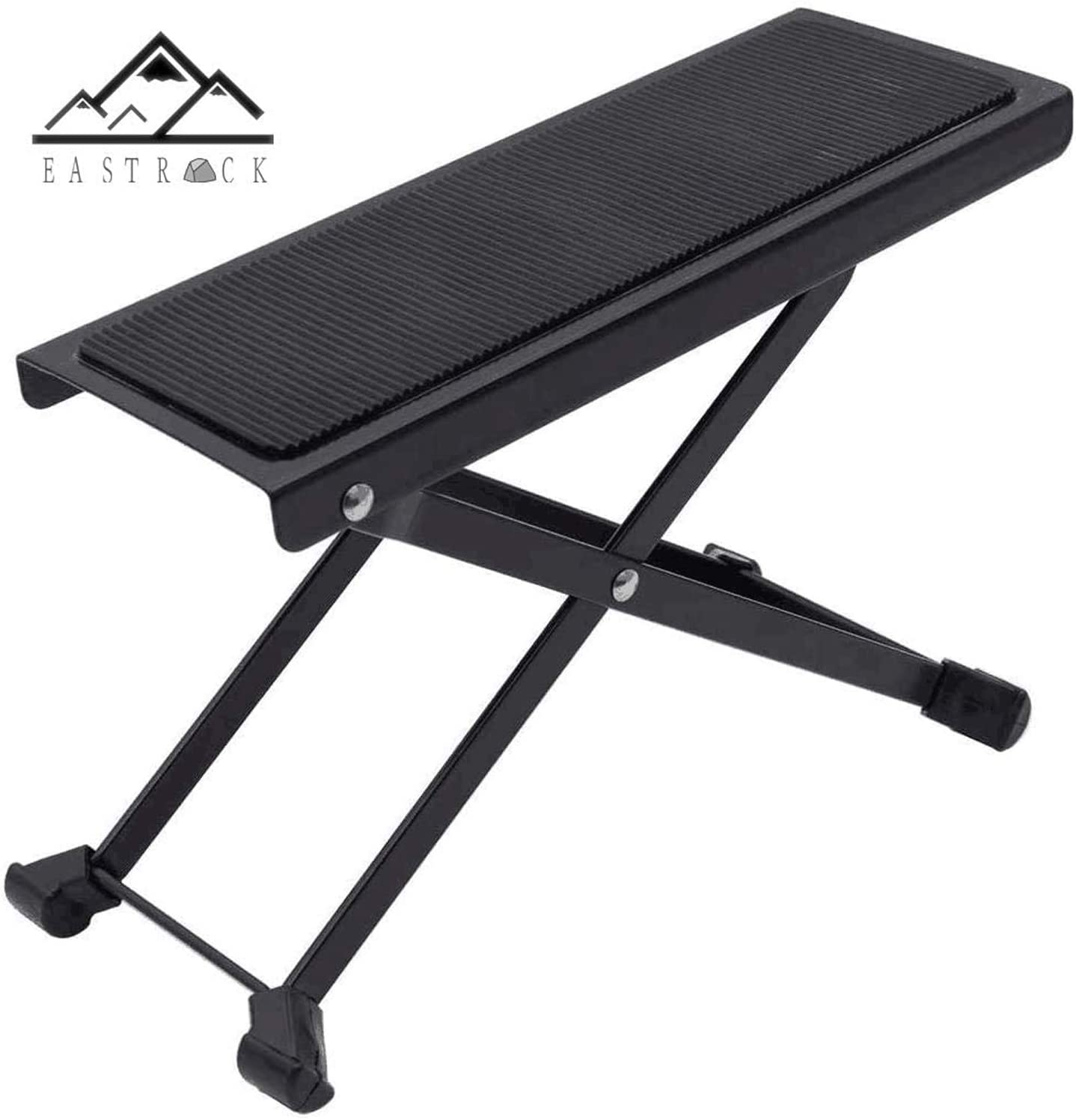 EastRock Adjustable Height Guitar Footstool Angle Non-slip Rubber Pad Excellent Stability Guitar Accessories