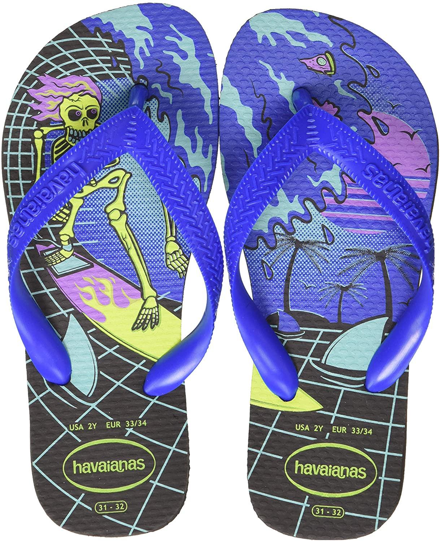 Havaianas K Radical Blue Flip Flops for Kids K RADICAL 3768 <br />
