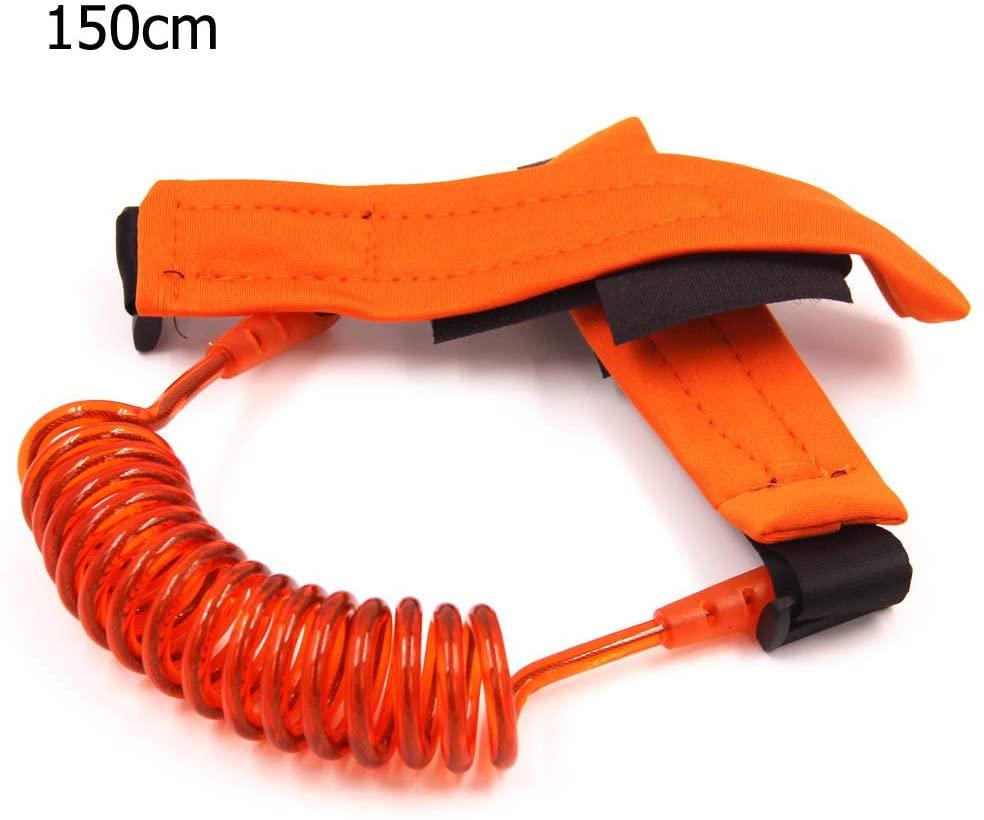 DLDLWJ Anti Lost Wrist Link Toddler tyFor Baby Rope Outdoor Walking H Belt B Orange 150cm