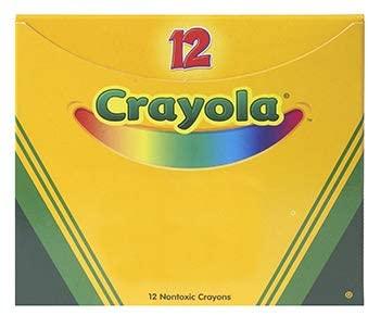 Crayola LLC Formerly Binney & Smith BIN520836036 Bulk Crayons 12 Ct Orange