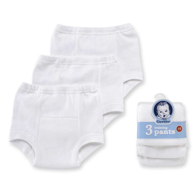 Gerber Potty Training Pants White 2T (3-pack)
