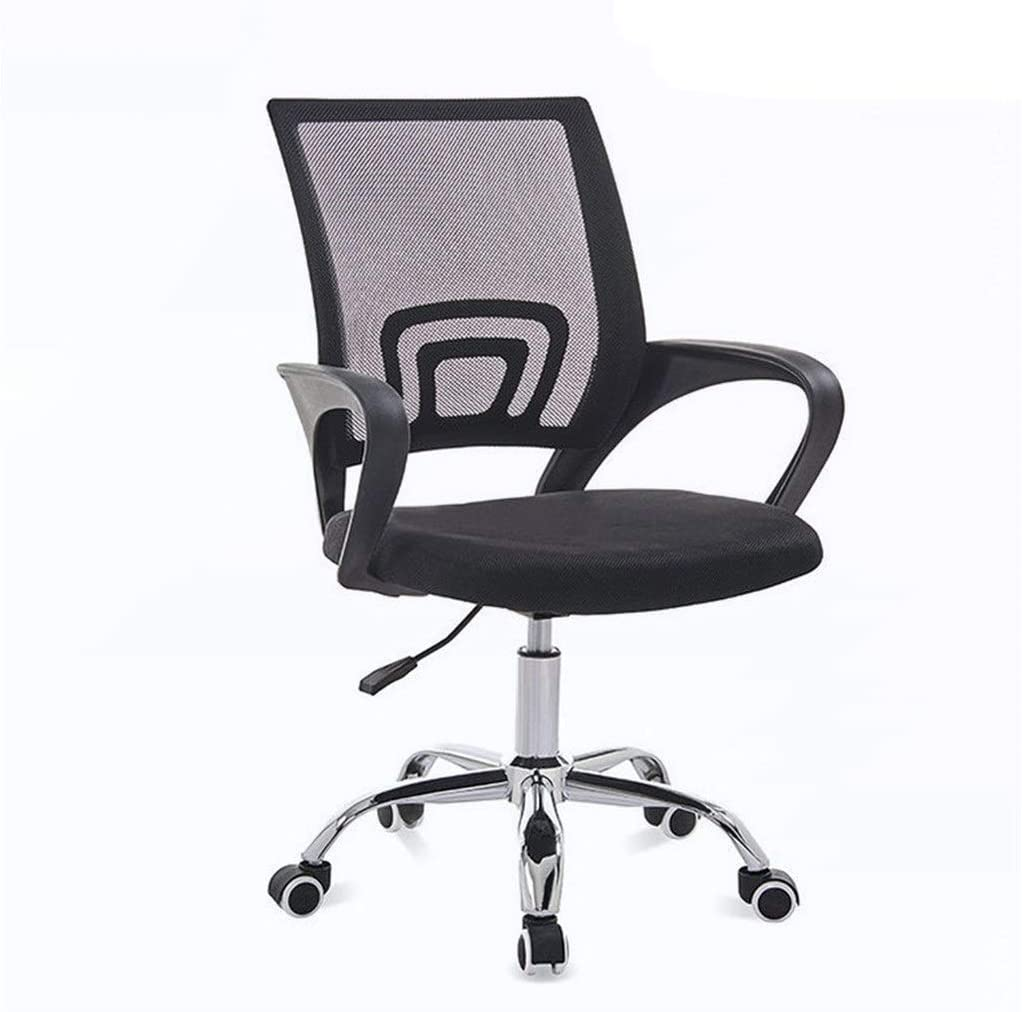 CAIS Chair Comfortable Executive Office Chair, Mesh Back Comfortable Armchair for Offices Meeting Room Staff Chair Adjustable Height Swivel Chair Armchair,5084-94CM
