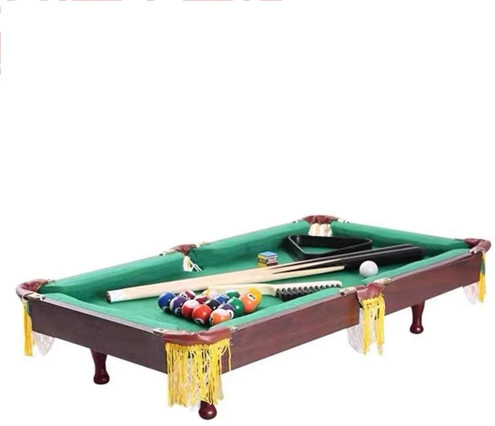 YGO Folding Pool Table Space Saving Billiards Table Height Adjustment Pool Table Indoor Game Table 55