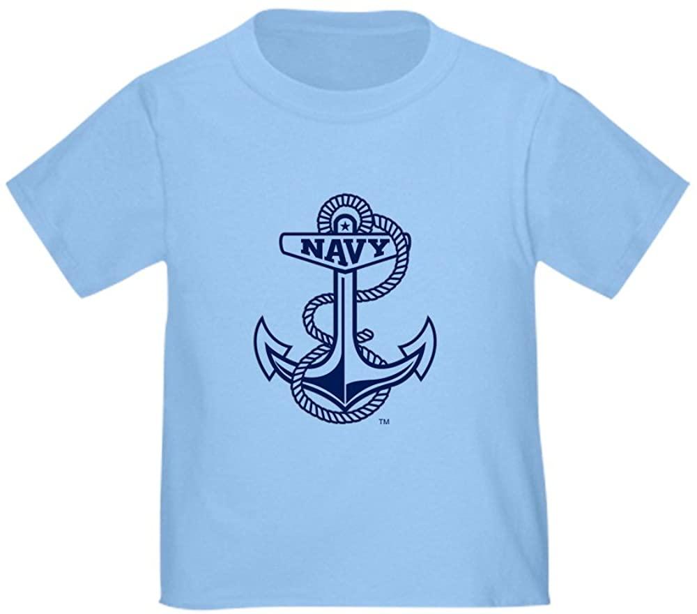 CafePress U.S. Naval Academy Anchor Toddler Tee