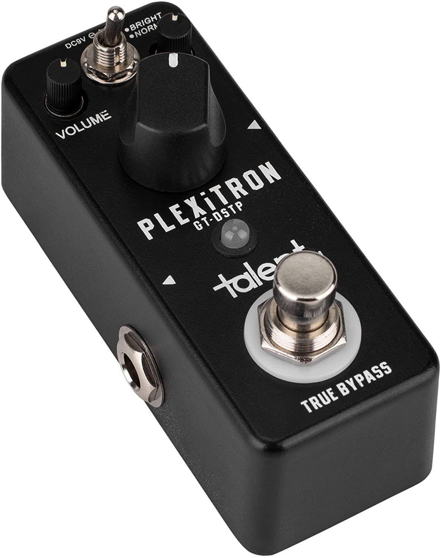 Talent GT-DSTP PLEXiTRON Plexi Tone Distortion Guitar Mini FX Pedal Stomp Box