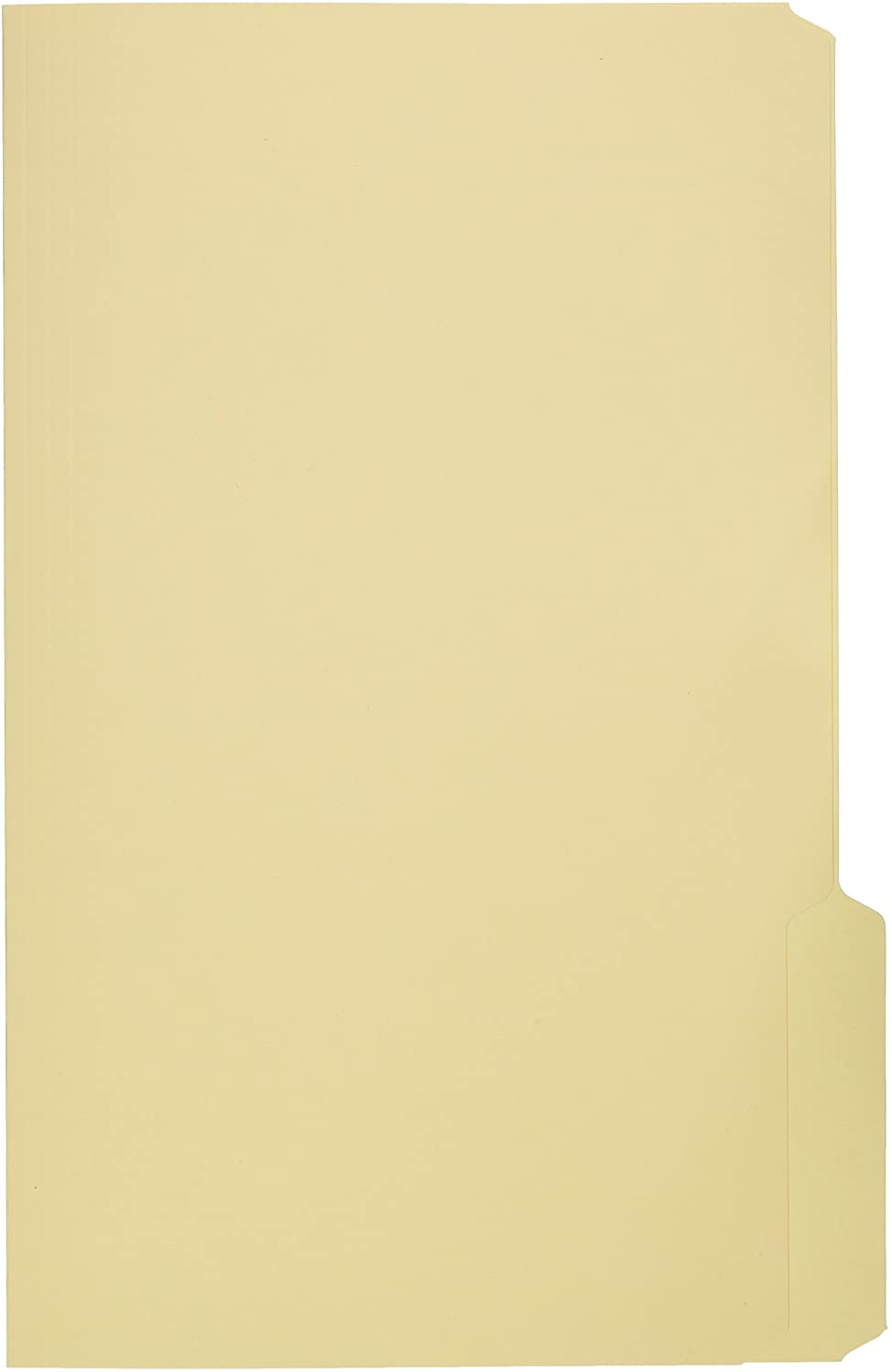 School Smart 1/3 Cut Manila File Folder, Legal, 14-3/4 x 9-1/2 Inches, Pack of 100