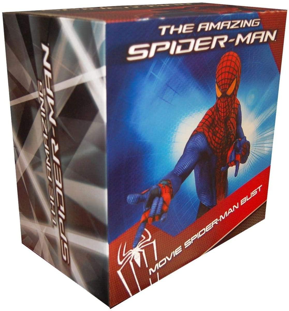 Amazing SpiderMan Movie 2012 SDCC San Diego Comic Con Exclusive Figure SpiderMan Metallic Bust