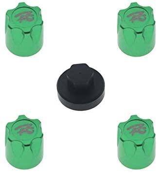 Parts & Accessories 4PCS Wheel Dustproof Center Cap M4 Nut for 1/18 1/10 TRX-4 SCX10 D90 MST RC Car Accessories RC Parts - (Color: Green, US)