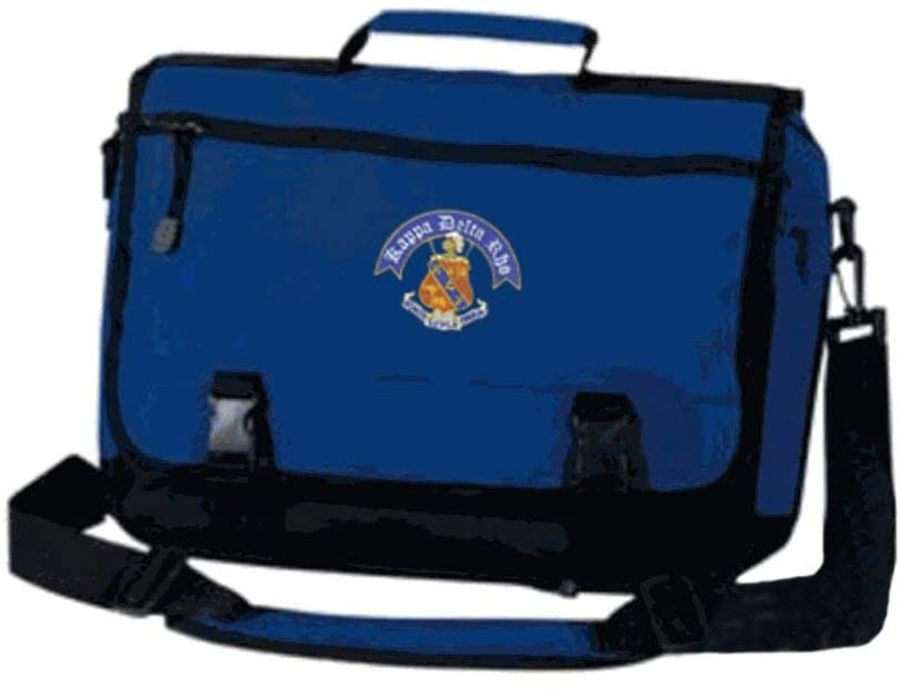 Kappa Delta Rho Crest Greek Expandable Briefcase Royal Blue