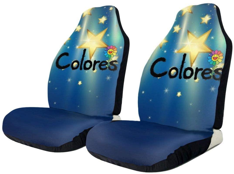 J Balvin Fashionable Car Seat Cover, Car Seat Protector, General Car Cushion Cover