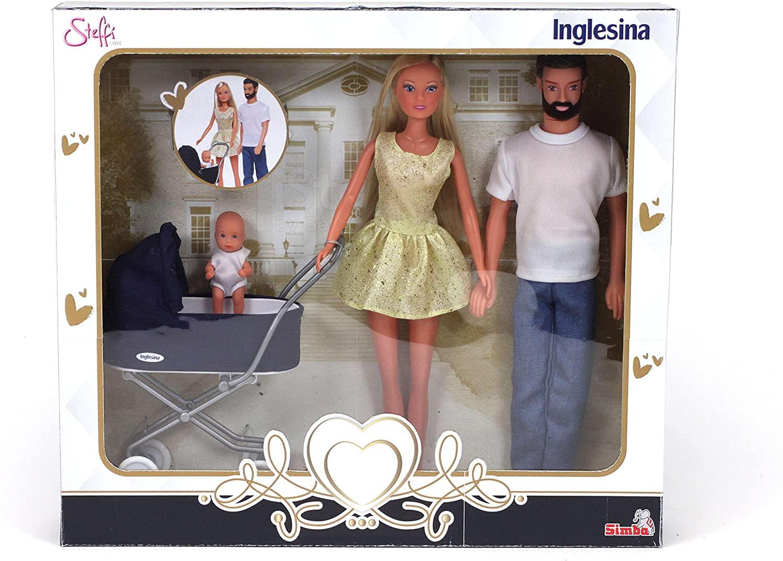 Simba- Steffi Love Inglesina Family with Pram, 105733283