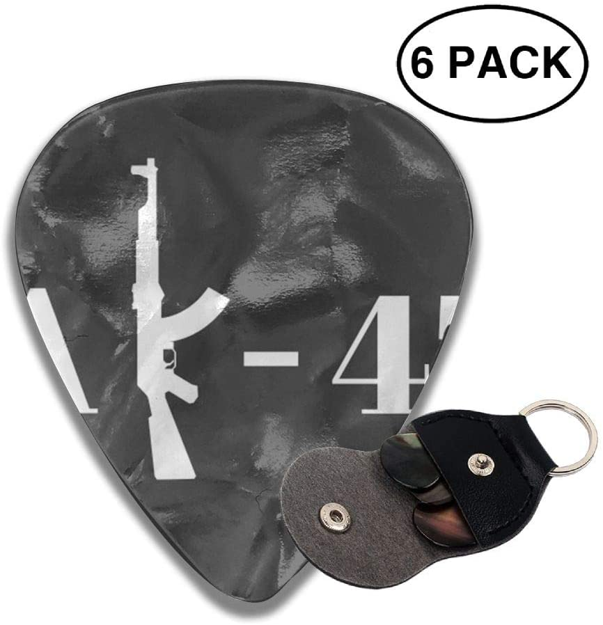 Ruin Rifle Celluloid Guitar Picks Plectrum for Guitar Bass
