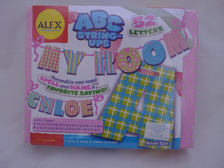 ALEX Toys ABCs String-Ups