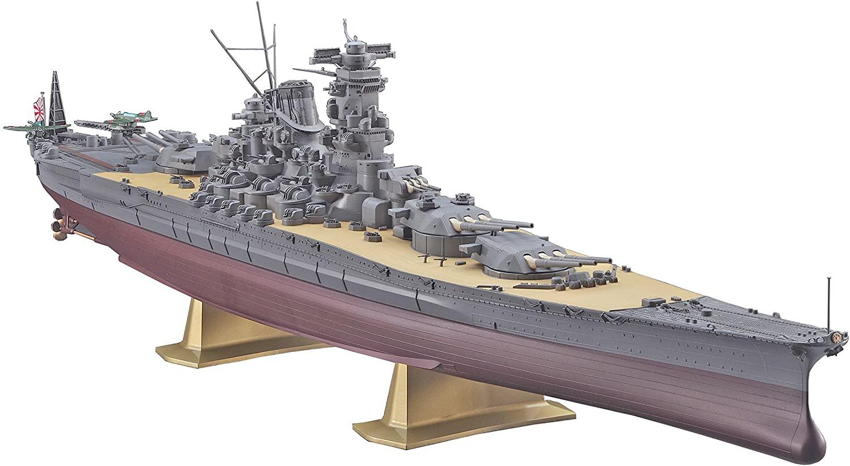 Hasegawa 1/450 Japan Navy Battleship Yamato Plastic Model Z 01