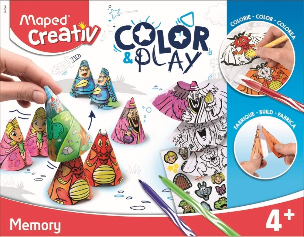 Maped Color & Play Activity Kit, Blue