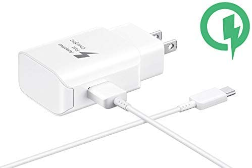 Fast 25W Wall Charger Works for Essential Phone with Detachable Quick Charge 3.0 USB-C Cable. (White)