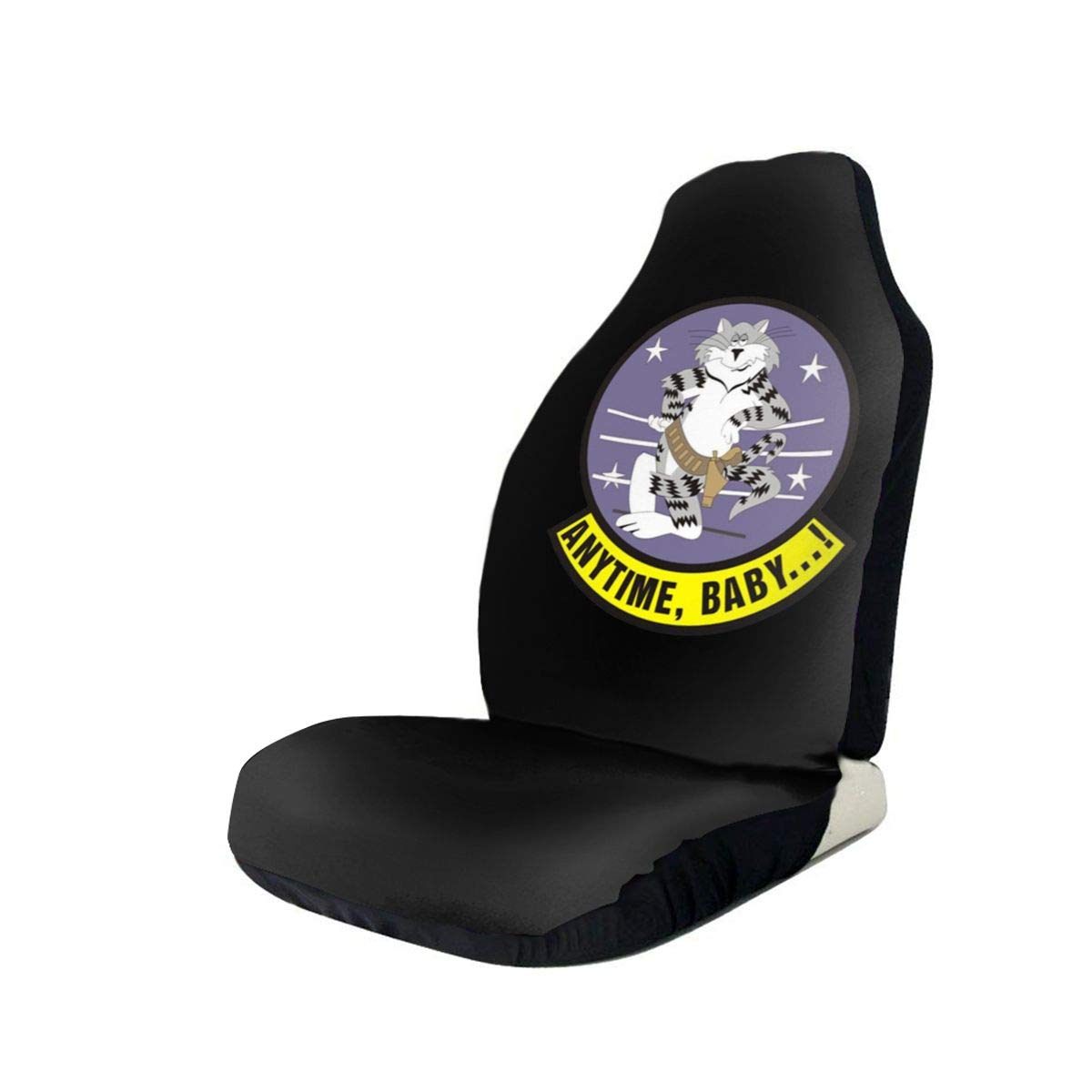 US Navy F-14 Tomcat Squadron Anti-Skid and Waterproof Car Seat Covers Protector Fits Most Cars, Auto SUVs Trucks