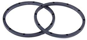 Parts & Accessories Plastic Beadlock Inner & Outside for Wheel Hub for 1/5 HPI ROFUN ROVAN KM Baja 5B Truck RC CAR Toys Parts - (Color: Black Inner)