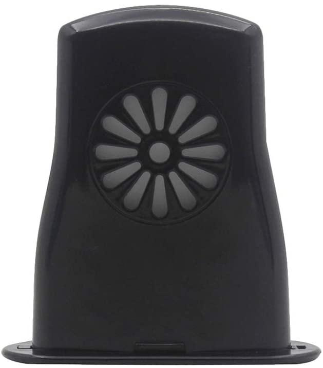 Milisten Ukulele Humidifier Uke Instrument Soundhole Case Humidifiers for Concert Tenor Baritone Prevent Cracks Warps (Black)