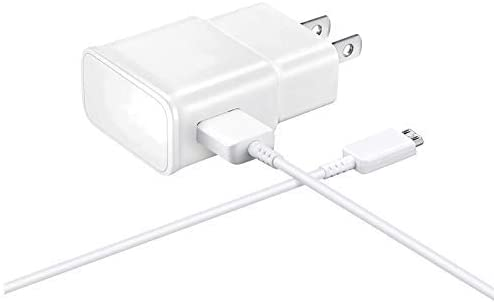 Fast 15W Wall Charger Works for Plantronics BackBeat Fit Grey 3100 P/N 211856-99 with MicroUSB 2.0 Cable with True 2.1Amp Charging!