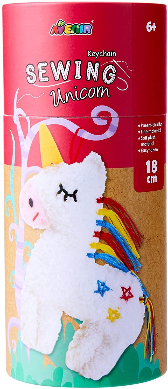 Avenir CH1628 Sewing Keychain Unicorn, Multi Colour