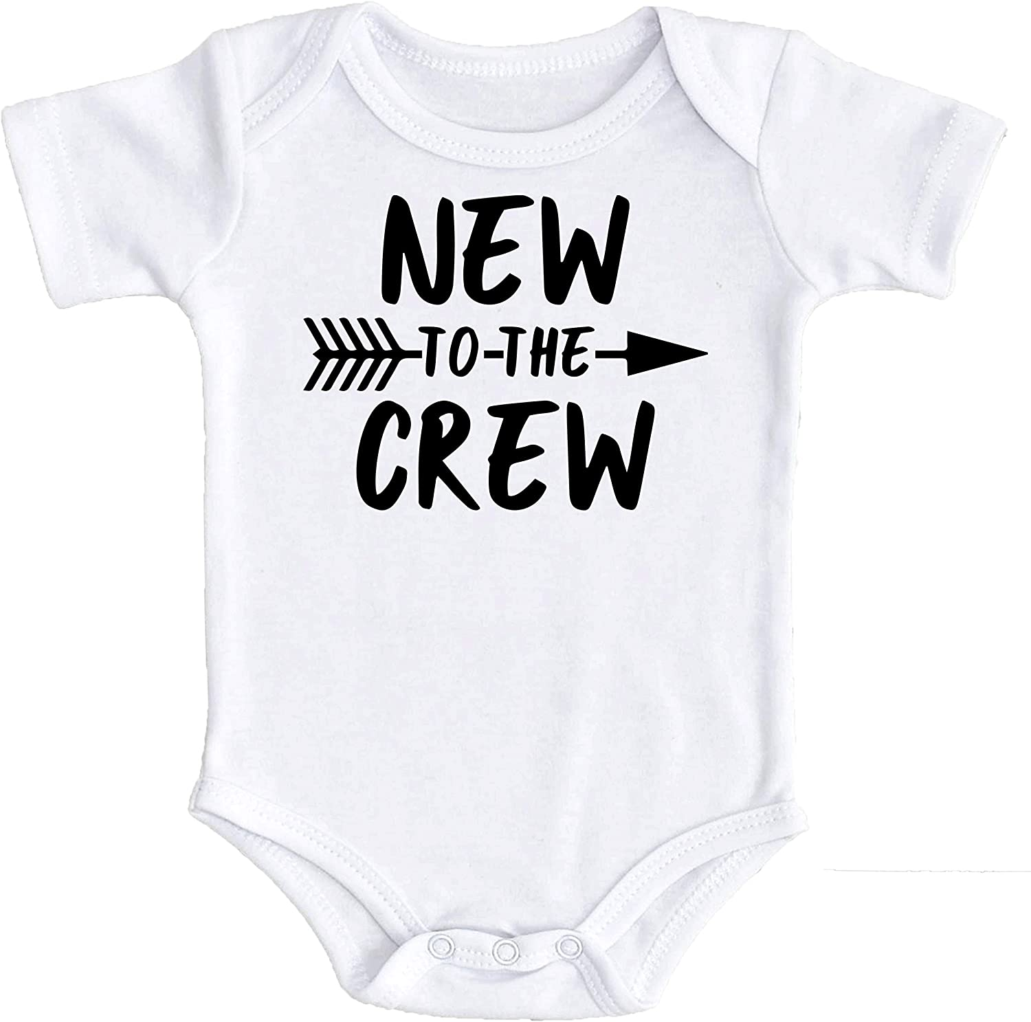 New to The Crew Newborn take Home Outfit Boys New to The Crew Coming Home Bodysuit for Baby Boys