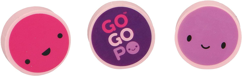 GOGOPO GP018 Round Erasers