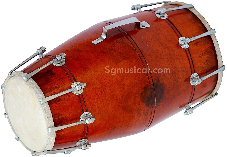 SG Musical Dholak/Dholki, Mango Wood, Bolt Tuned, 5 item's Free ...