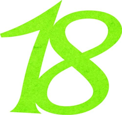 Petra's Craft News A GEF331861Confetti, Fliz, Apple Green, 18x 12x 3cm