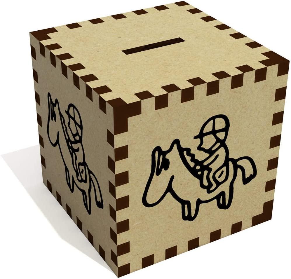 Azeeda 'Jockey On Horse' Money Box / Piggy Bank (MB00054991)