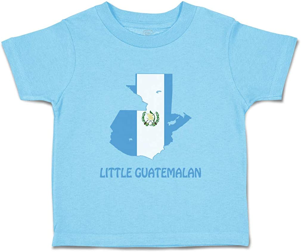 Custom Baby & Toddler T-Shirt Little Guatemalan Cotton Boy Girl Clothes