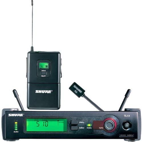 Shure SLX14/93 Lavalier Wireless System, H5