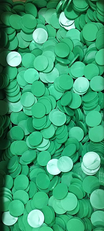 1000 Green, 1-5/8inch Diameter, .07