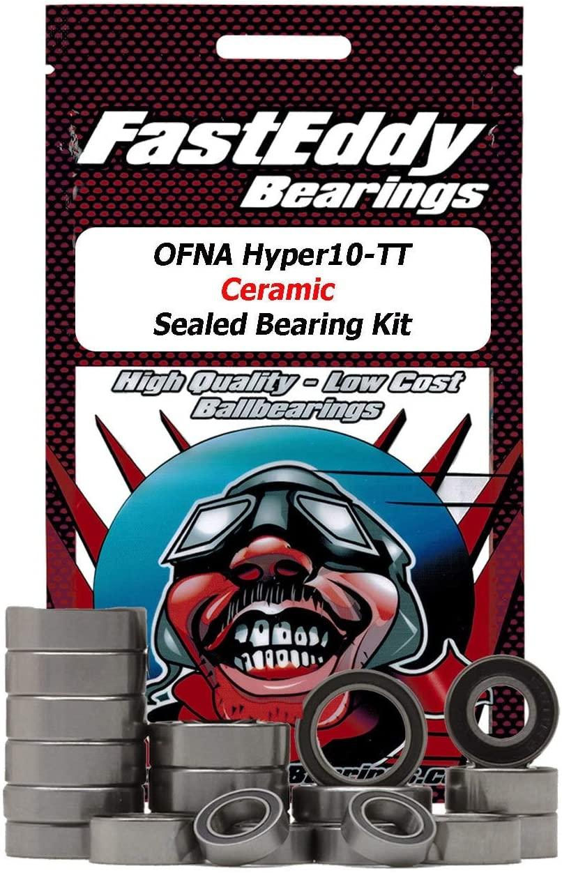 OFNA Hyper10-TT Ceramic Sealed Bearing Kit