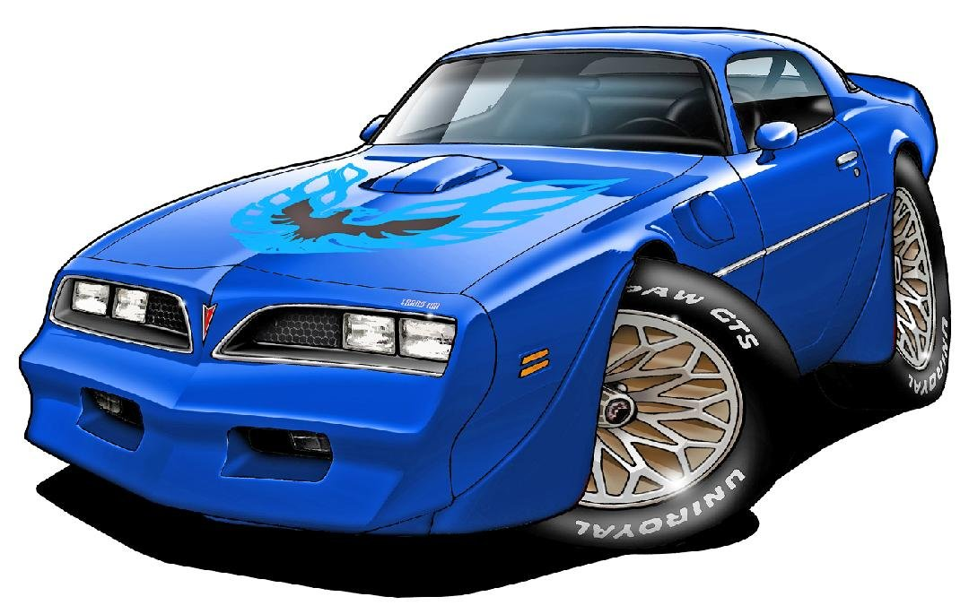 1978 Trans Am Wall Decal Vintage 3D Car Movable Stickers Vinyl Wall Stickers for Kids Room