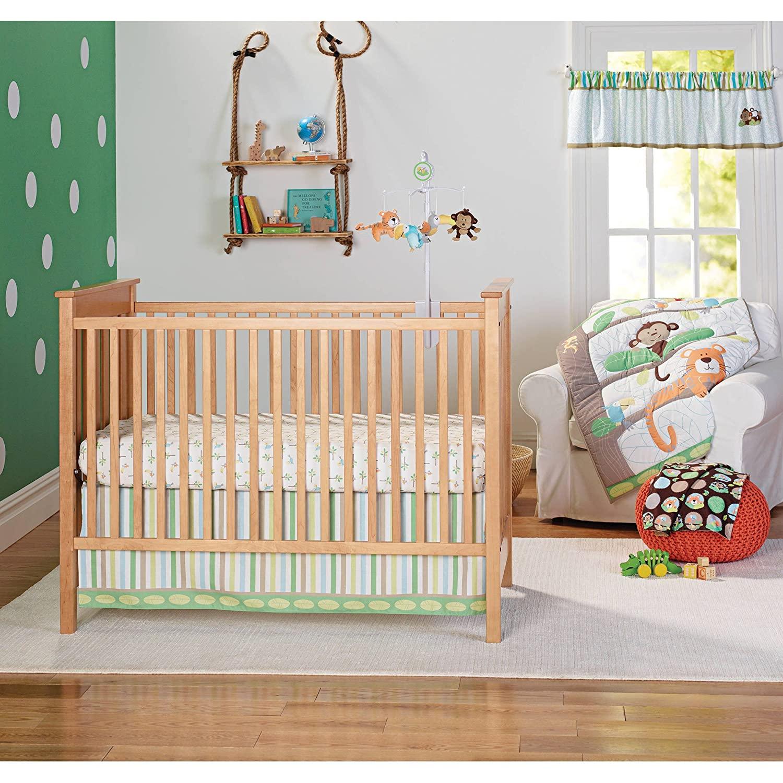 Garanimals Tropical Tree Top, 3 Piece Bedding Nursery Set