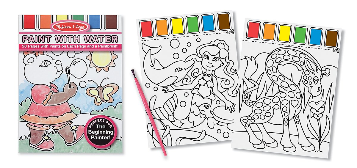 Melissa and Doug Paint with Water - Pink