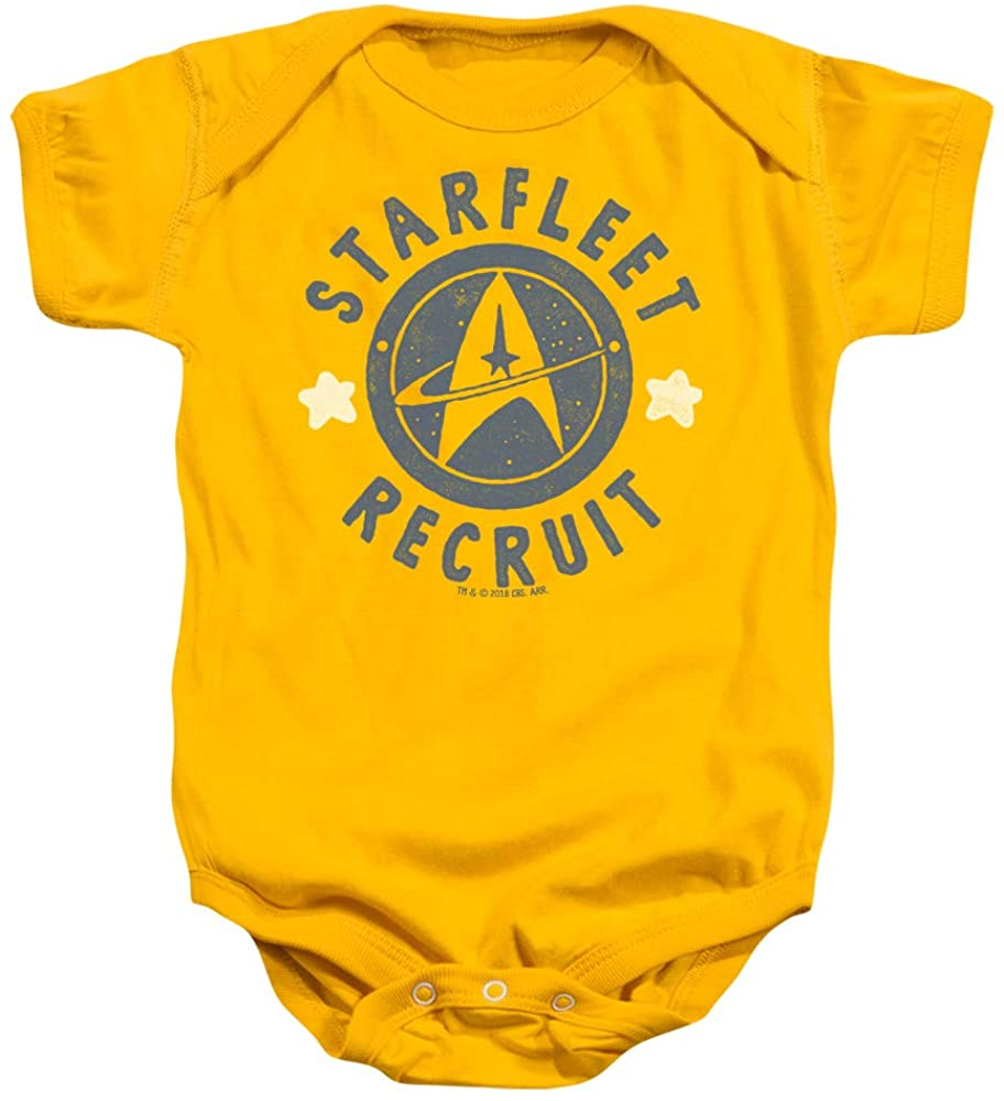 Popfunk Star Trek Graphic Baby Onesie Bodysuit