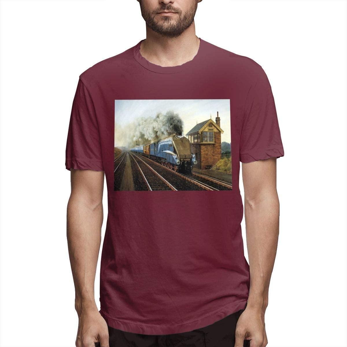 N/C Retro Train Locomotive Steam Train T-Shirt